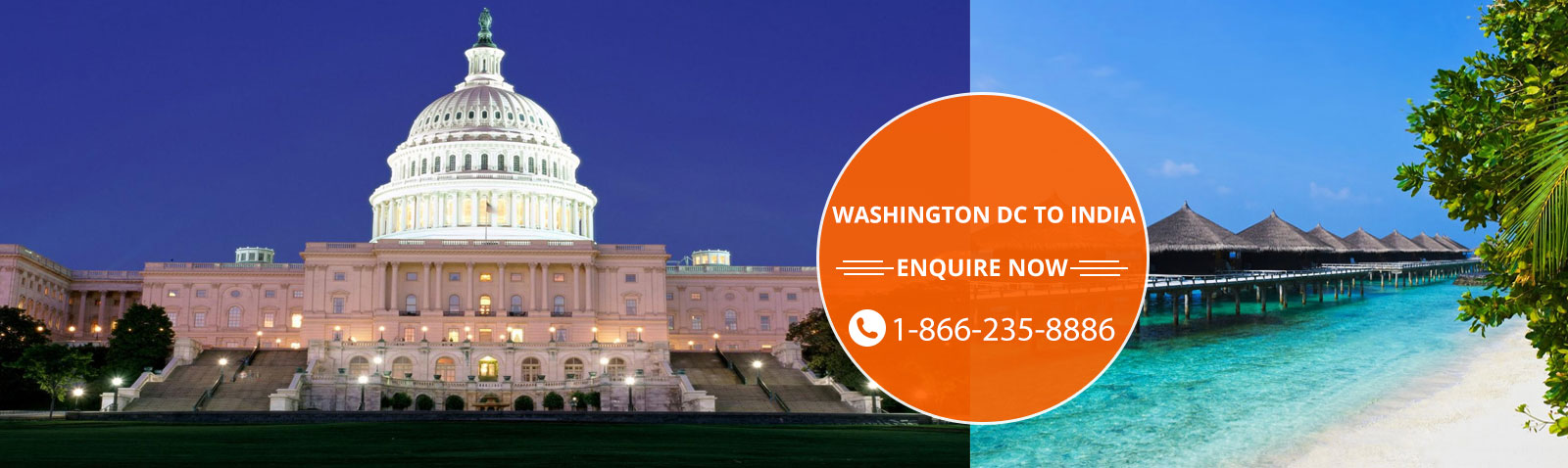 Trip Beam Cheap Flights Tickets From Washington Dc To India