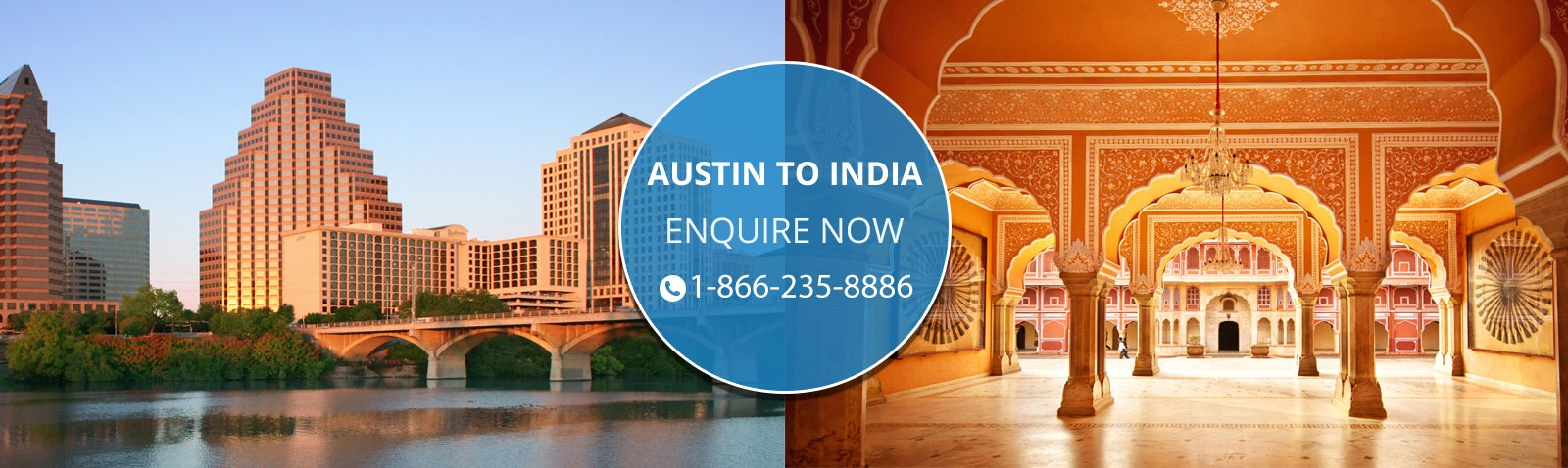 how to call from us to india